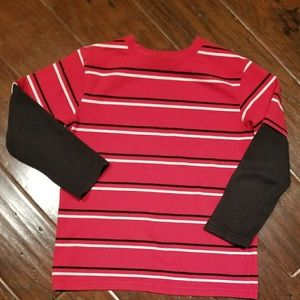 Long sleeved boys shirt